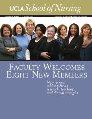 Spring 2007 - UCLA School of Nursing