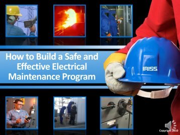 How to Build a Safe and Effective Electrical ... - UE Systems