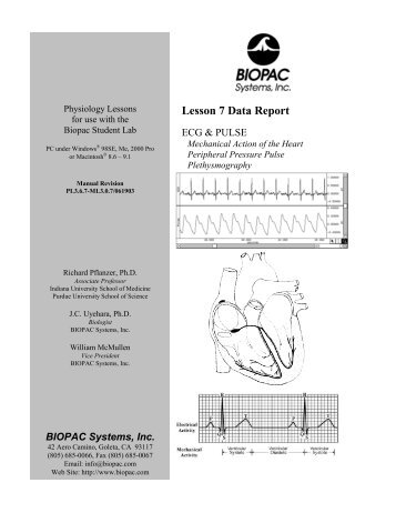 Lesson 7 Data Report - Biopac