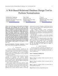 A Web Based Relational Database Design Tool to Perform ...