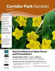 Corridor Park Rambler - Toronto and Region Conservation Authority