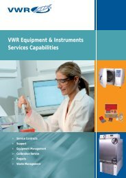 download pdf - VWR - VWR International