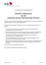 Merkblatt für Detailhandelsfachleute - Kaufmännische Berufsschule ...
