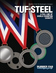 Gasket,Size 1 In,Tri-Clamp,PTFE RUBBERFAB 40MPG-100
