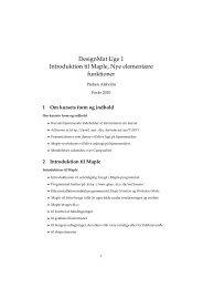 DesignMat Uge 1 Introduktion til Maple, Nye elementære funktioner