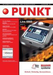 Einfach. Vielseitig. Kennzeichnen. Linx 6900 - Bluhm Systeme GmbH
