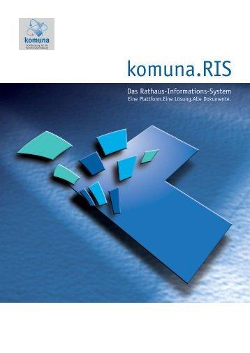 Broschuere RIS v7b.indd - Komuna GmbH