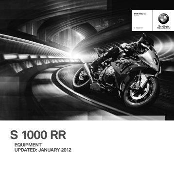 S 1000 RR - BMW Motorrad