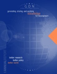 Annual Report 2002 - Global Development Network