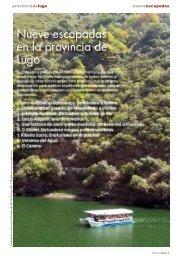 Nueve escapadas en la provincia de Lugo - La Turisteca