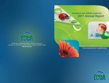 2011 Annual Report - Escambia County Utilities Authority