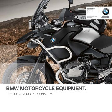 BMW MOTORCYCLE EQUIPMENT. - BMW Motorrad Polska