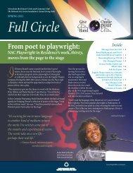 Full Circle, Spring 2012 - National Arts Centre