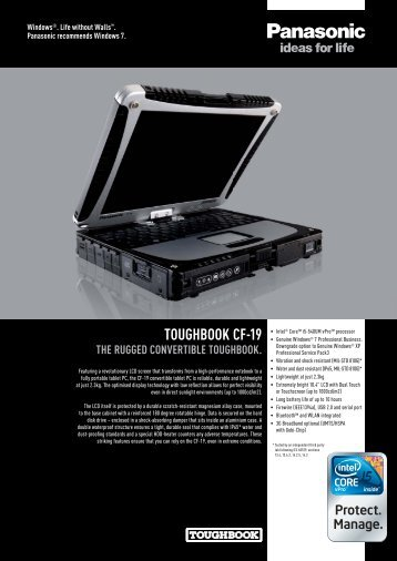 toughbook cf-19 the rugged convertible toughbook.