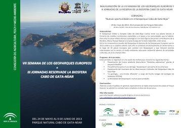 el programa - Parque Natural de Cabo de Gata