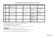 Stundenplan Master Medienentwicklung SS 2013 - 2. Semester