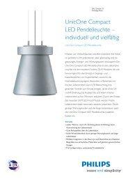Unicone Compact LED Pendelleuchte - Philips