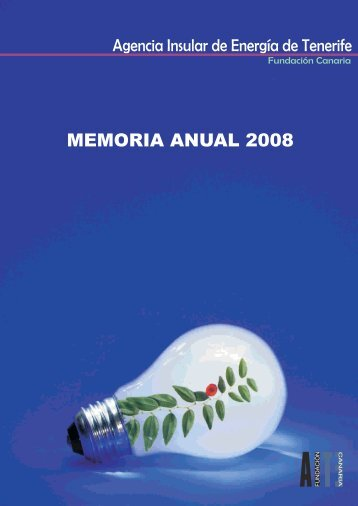 Memoria Actividades AIET 2008 (PDF) - Agencia Insular de Energía ...