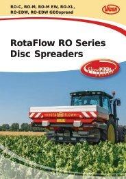 RotaFlow RO Series Disc Spreaders - Edney Distributing Co. Inc.