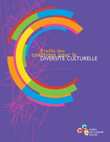 Profil des coalitions - Coalition pour la diversité culturelle