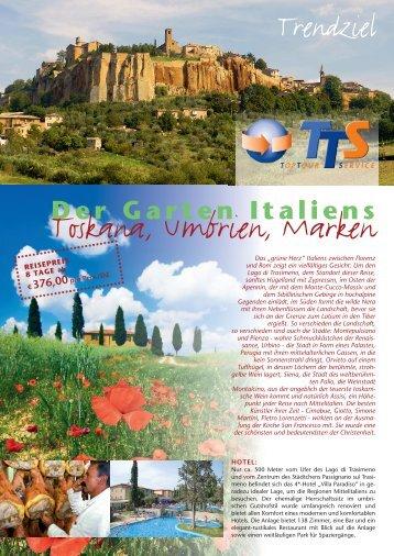 Der Garten Italiens - TTS-Gruppenreisen