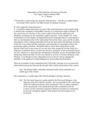 Q&A with Fr Aloysius Deeney OCD - Secular Carmelites of the ...