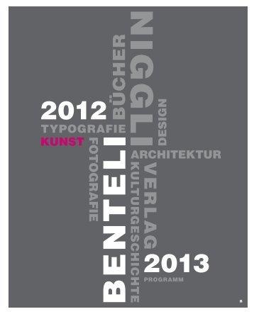 Kunst - Niggli Verlag