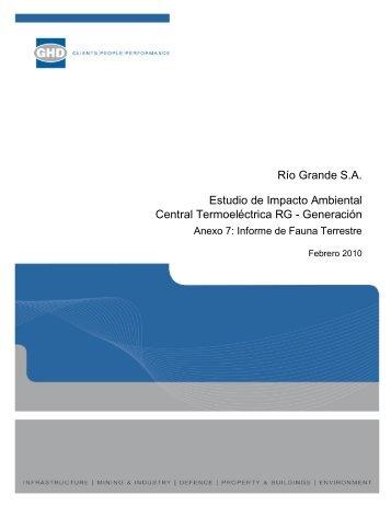 Anexo 7_Informe Fauna Terrestre
