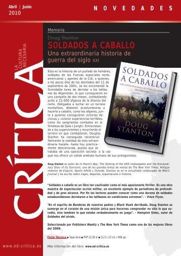SOLDADOS A CABALLO - PlanetadeLibros.com