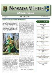 Nr. 4 (21) Aprīlis - Inčukalns.lv