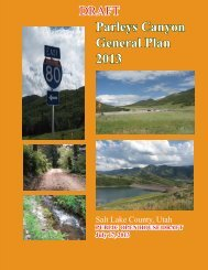 Parleys - Planning and Development - Salt Lake County
