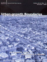 Urban-growth Boundaries and Housing Affordability - Reason ...