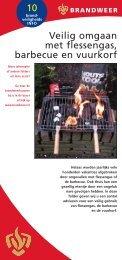 10 Veilig omgaan met flessengas, barbecue en vuurkorf - Brandweer