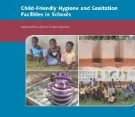 Child-Friendly Hygiene and Sanitation Facilities in Schools