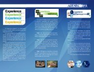 Experience Program Brochure - CERI