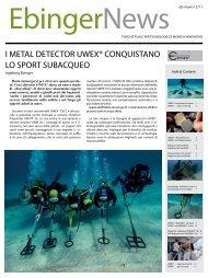 Cercametalli conquistano lo sport subacqueo - Volta SpA