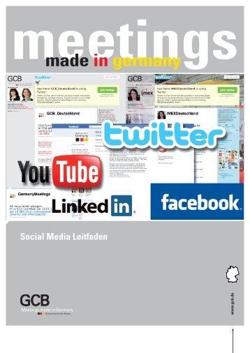 Social Media Leitfaden - GCB