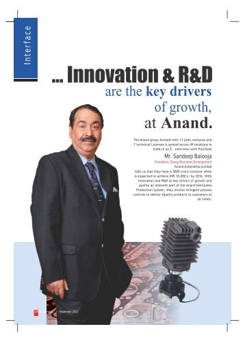 Anand. - Industrial Products