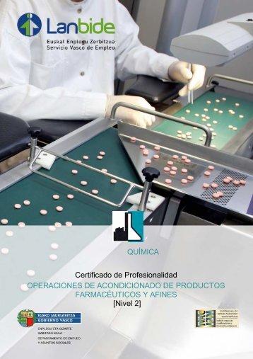 Certificado de Profesionalidad OPERACIONES DE ... - Lanbide