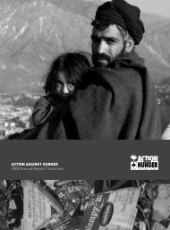 Action Against Hunger Financial Report 2008