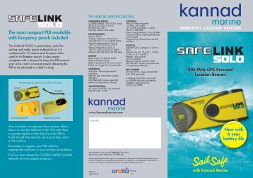 SailSafe - Dekker Watersport