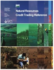 Natural Resources Credit Trading Reference