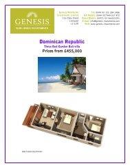 Dominican Republic - Genesis-investments.com