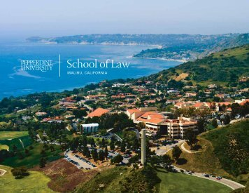 Download Viewbook - Pepperdine University School of Law