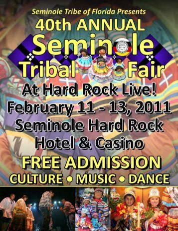 genuine seminole crafts contest - Seminole Tribe of Florida