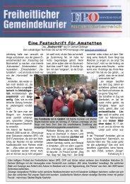 Ausgabe März 2011 - FPÖ Amstetten