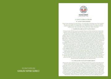 kanun yapım süreci - Yasama Derneği