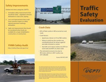 Traffic Safety Evaluation Brochure