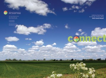 California Partnership for the San Joaquin Valley 2012 Annual Report