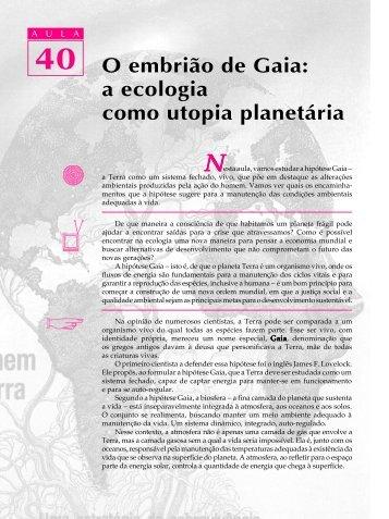 40. O embrião de Gaia - Passei.com.br